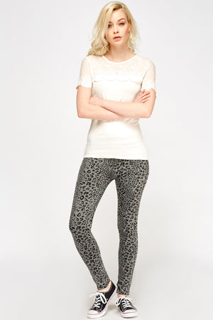 Jeggings animal print