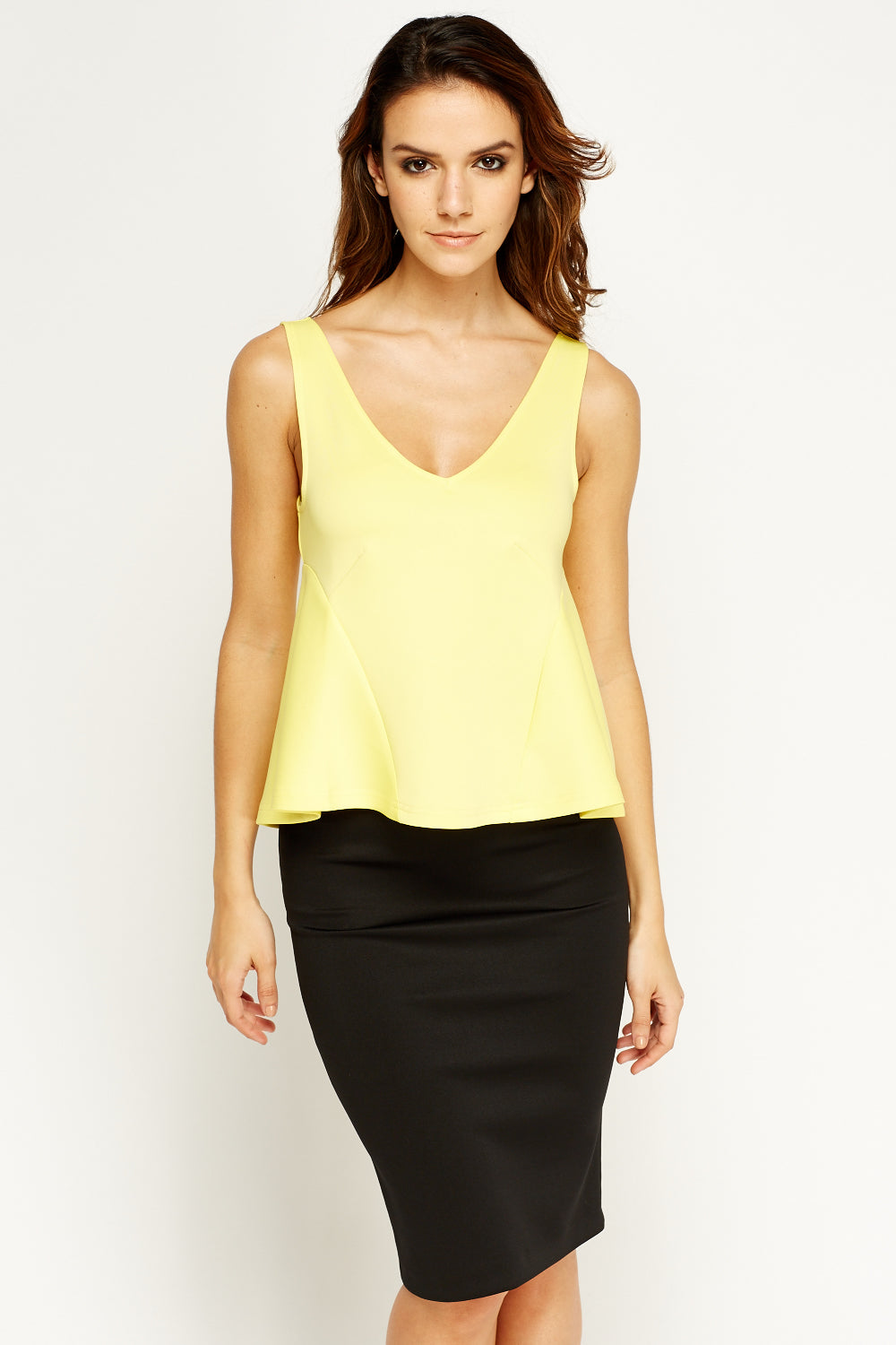Top peplum
