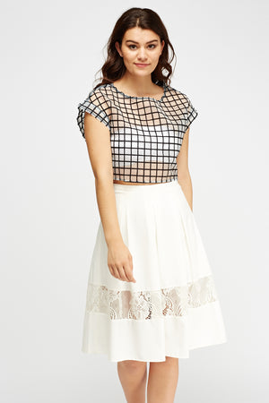 Crop top transparencias - MiTiendaSecreta