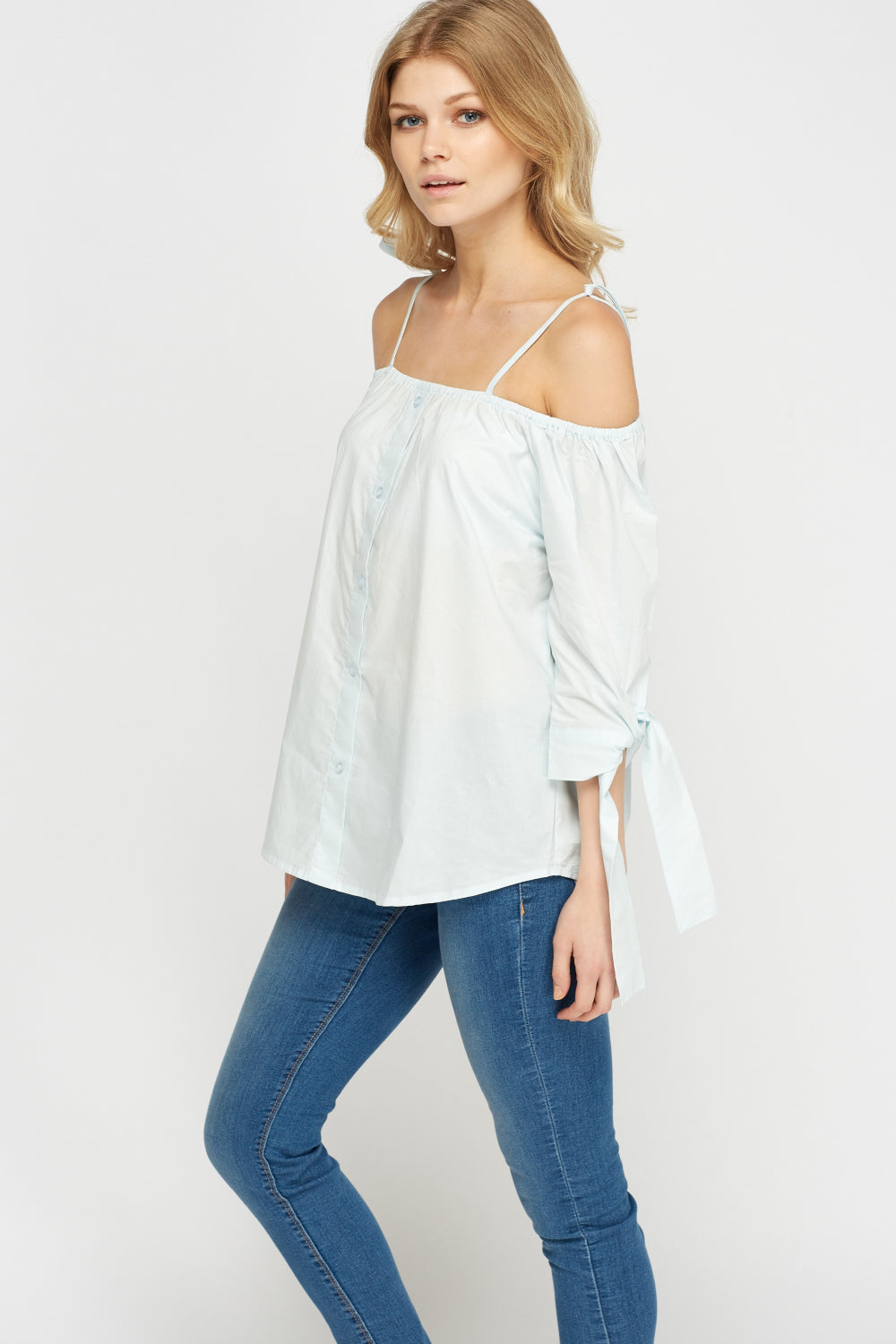 Top camisero off shoulder - MiTiendaSecreta