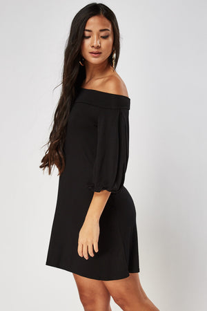 Vestido off shoulder - MiTiendaSecreta