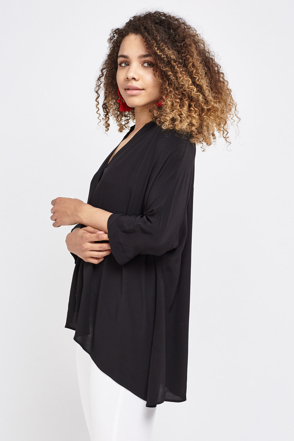 Top oversized - MiTiendaSecreta