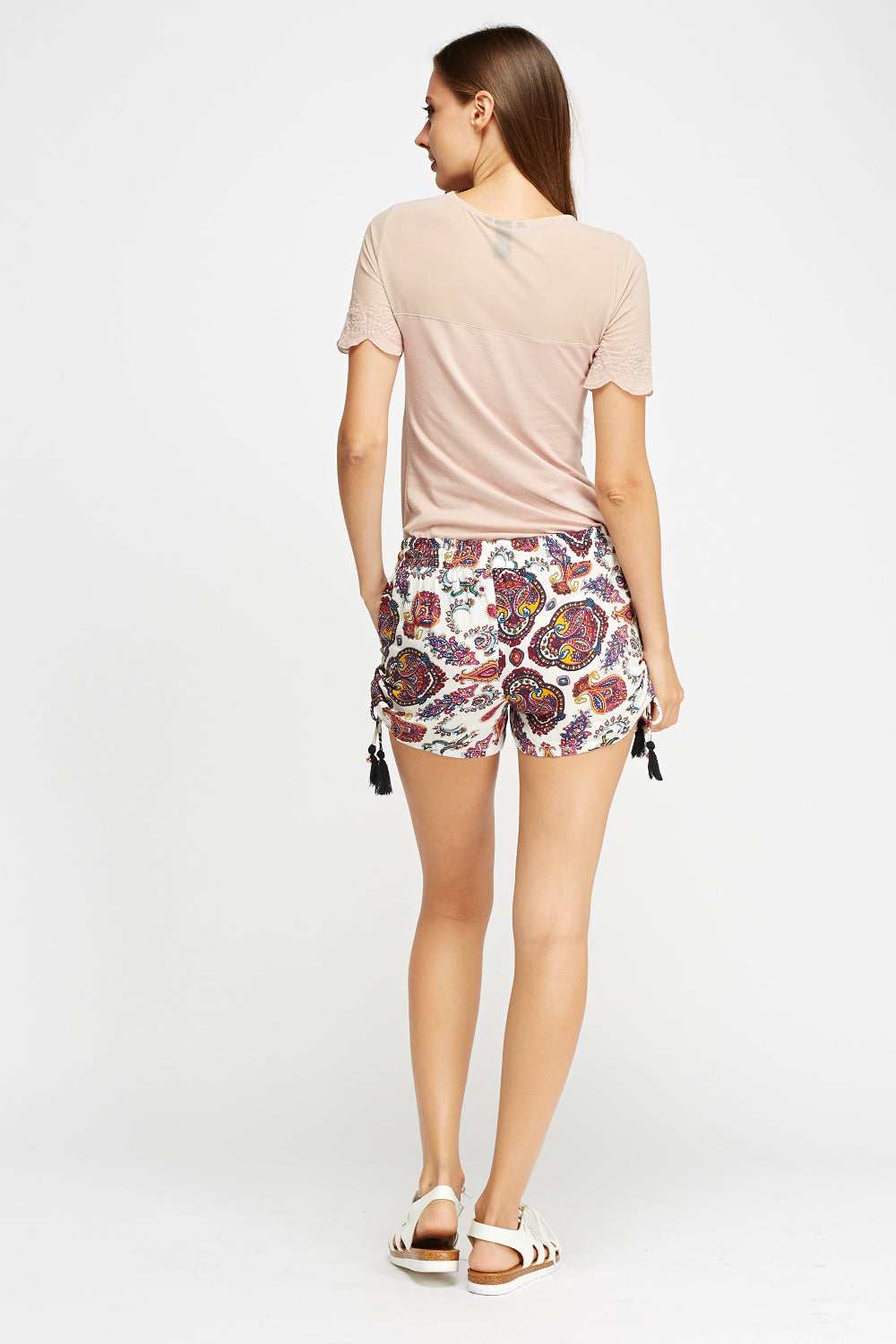 Shorts estampados