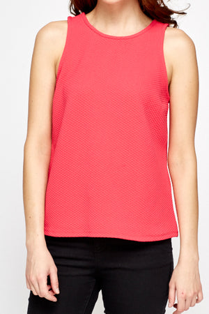 Top fucsia cut out - MiTiendaSecreta