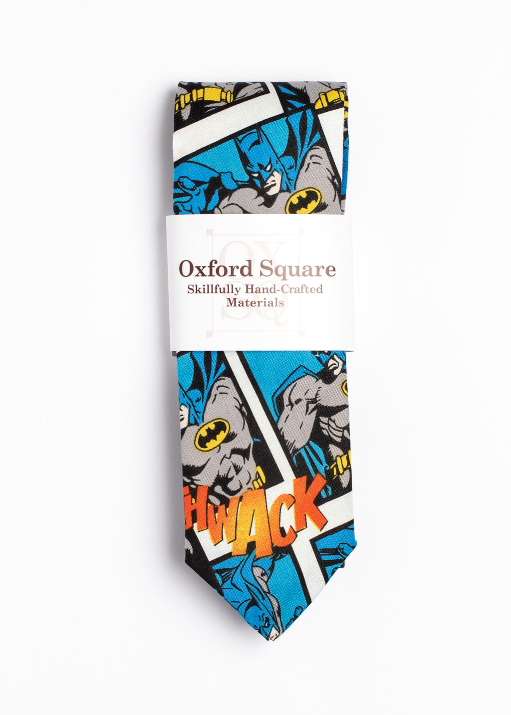 Batman pattern tie - Oxford Square