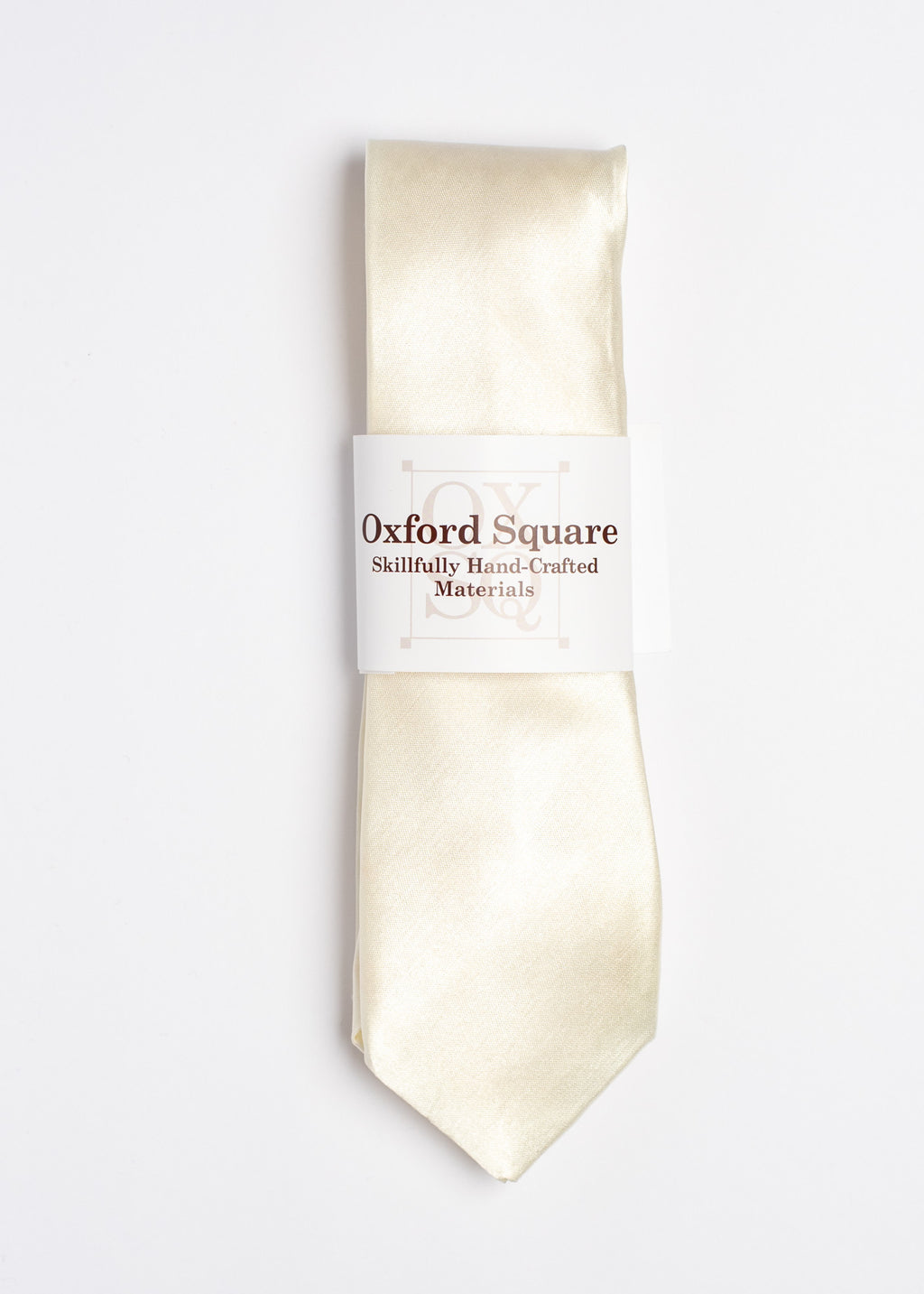plain white tie - Oxford Square
