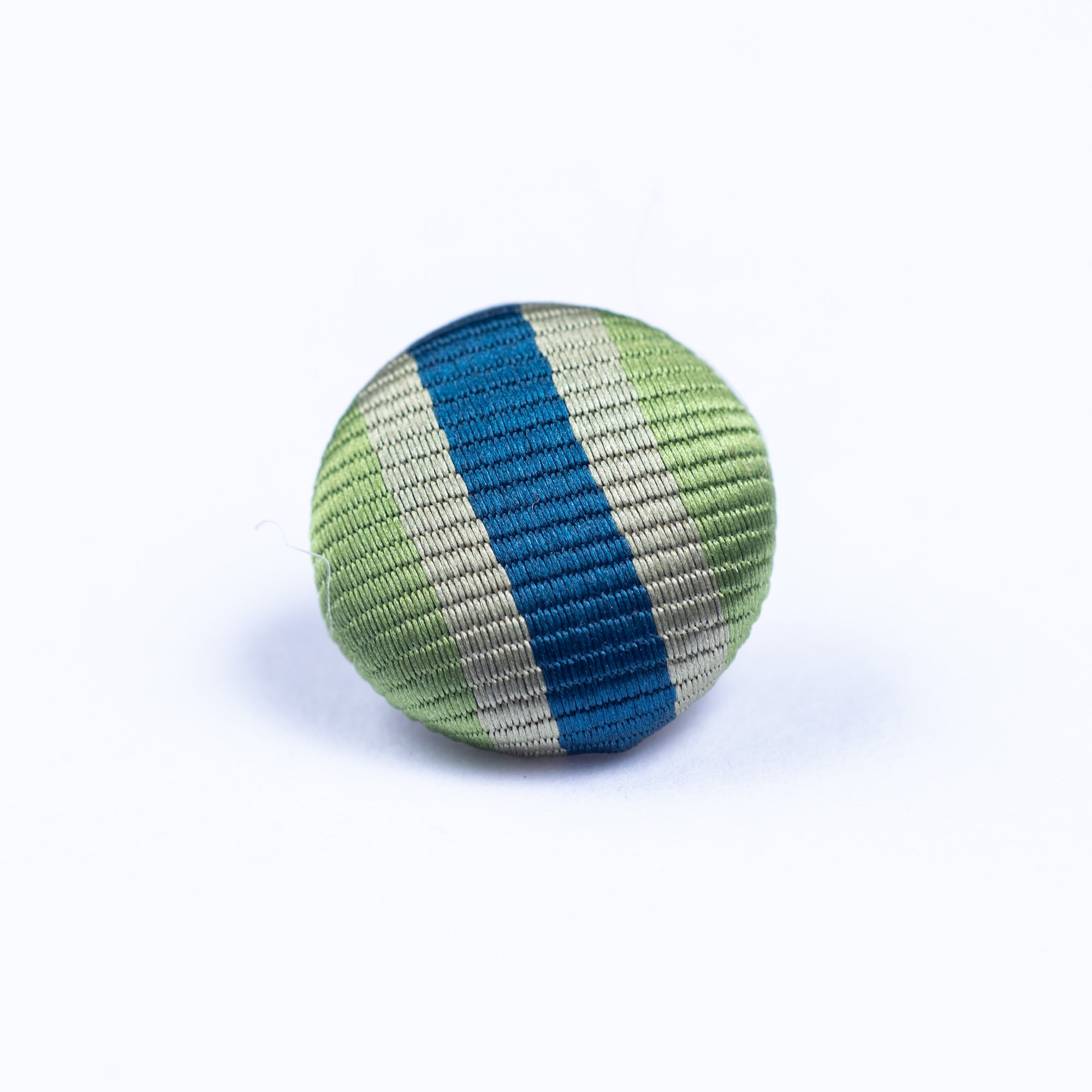 green and blue button lapel pin - Oxford Square
