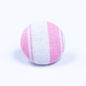 pink and white lapel pin - Oxford Square