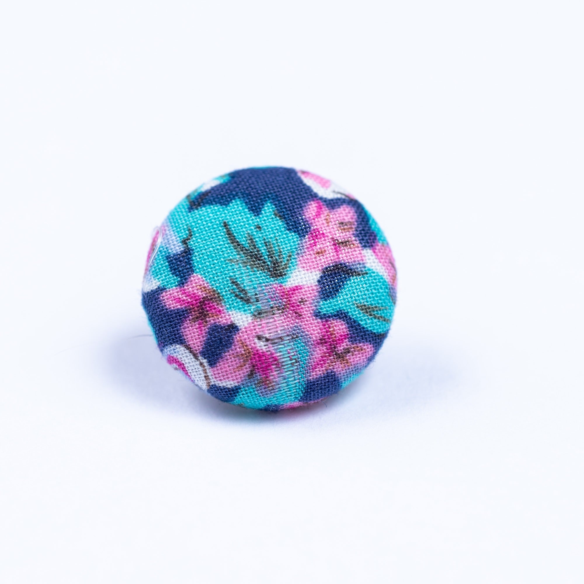 purple and pink button lapel pin - Oxford Square