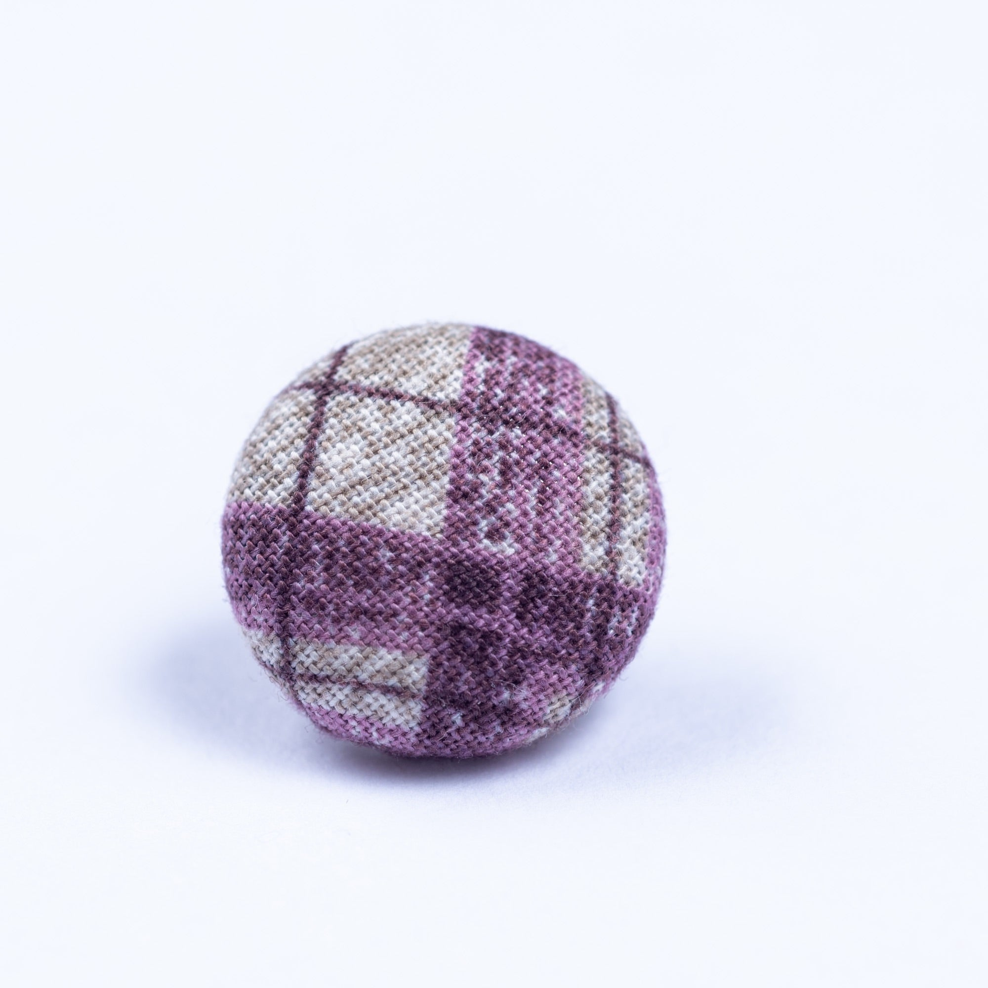 purple and white lapel pin - Oxford Square