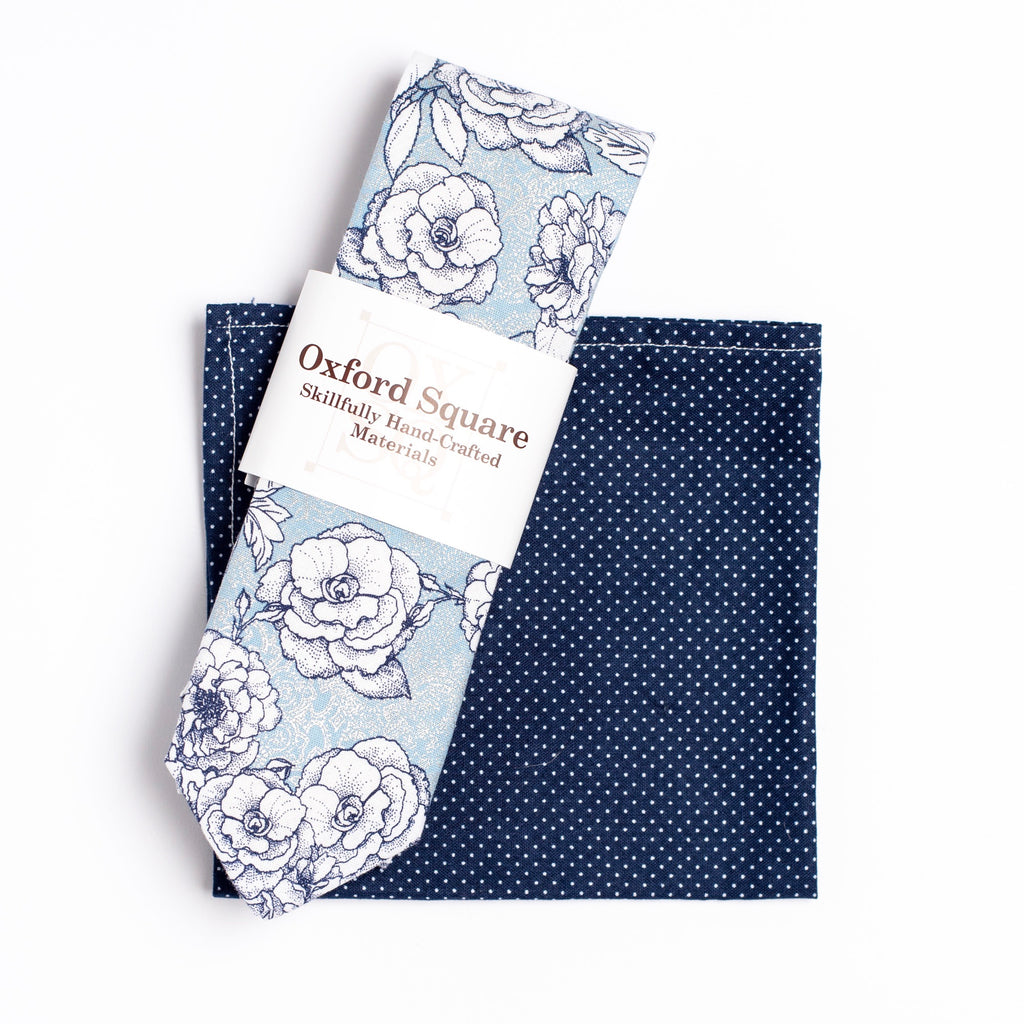 "The ""I Believe You're Killin' Me Smalls!"" Tie and Square Pack. - Oxford Square"