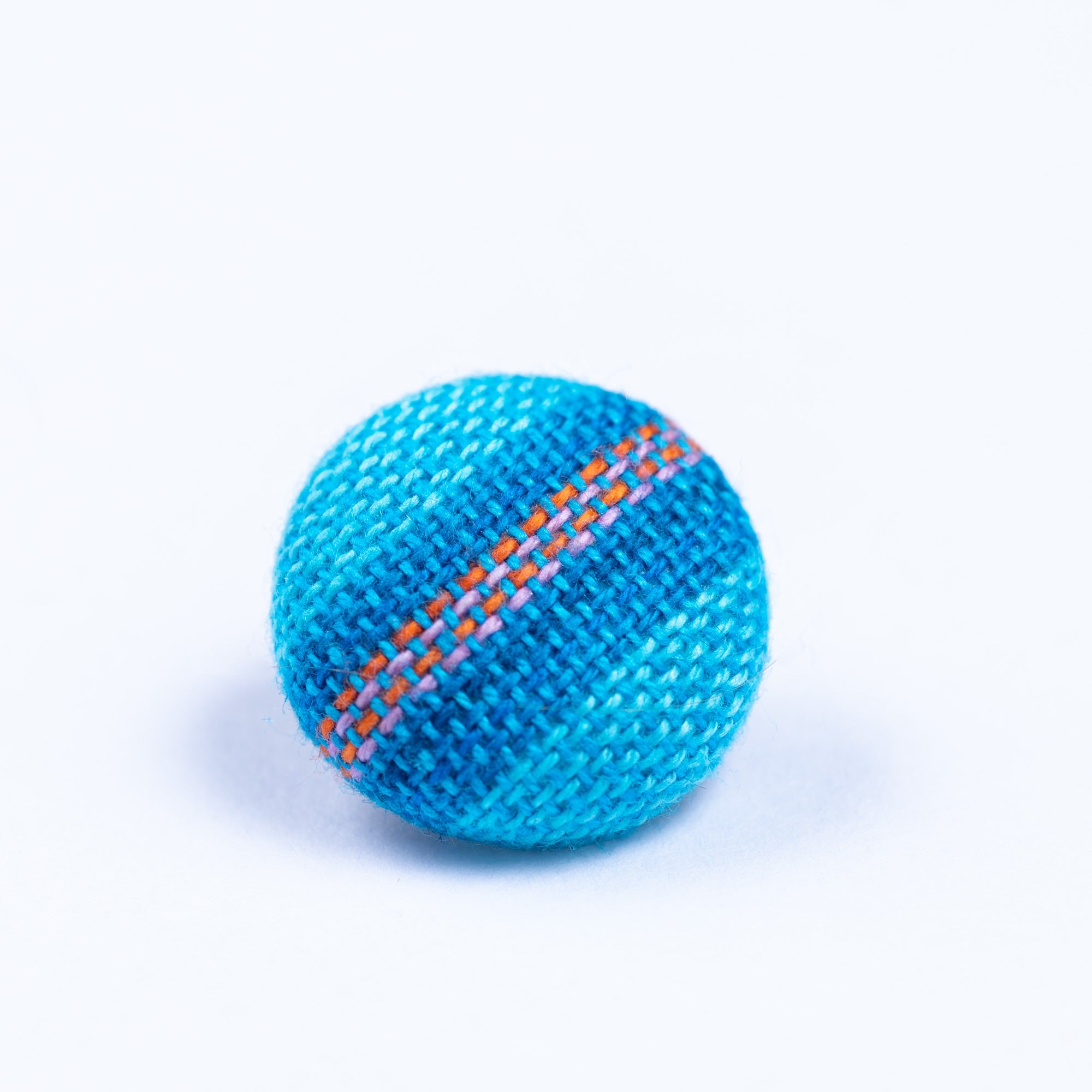 blue and orange button lapel pin - Oxford Square