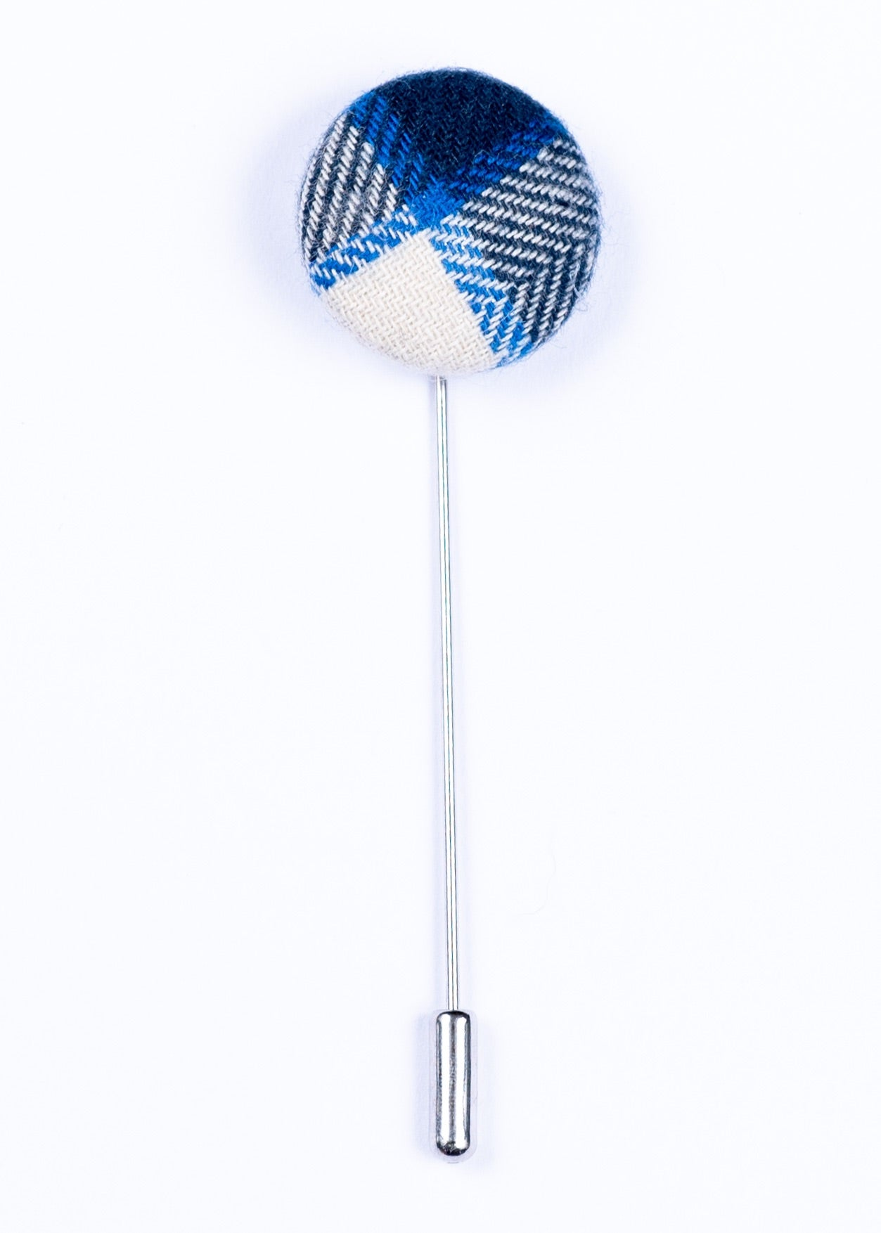 blue and white lapel pin - Oxford Square