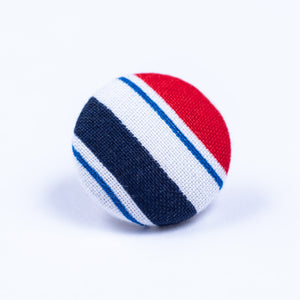 red white and blue lapel pin - Oxford Square