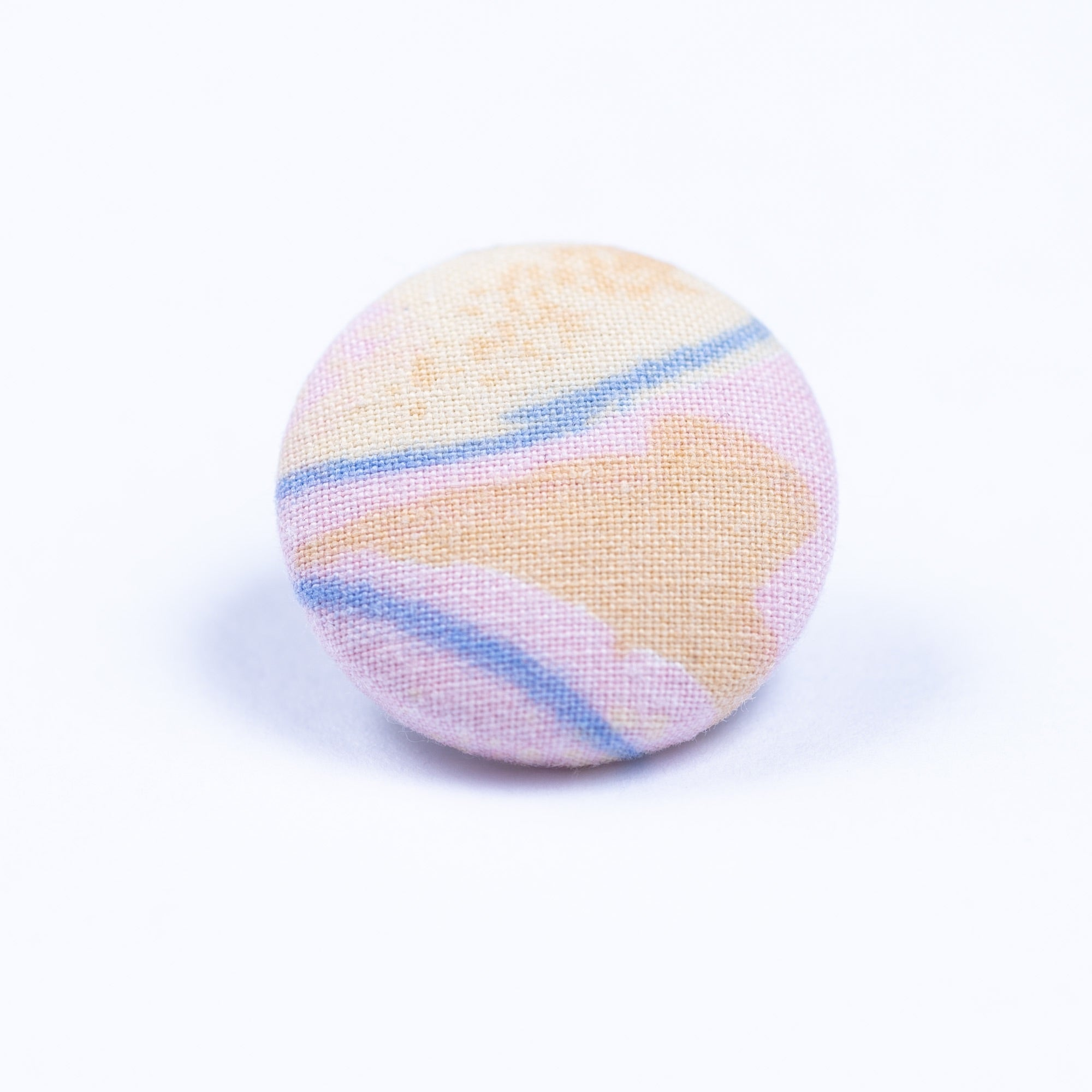 pink blue and yellow lapel pin - Oxford Square