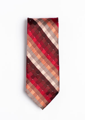 red and white striped tie - Oxford Square