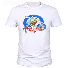New Summer white casual Car Styling funny t-shirt