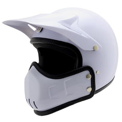 Removable  Spirit Rider Retro Motocross Vespa  Helmet