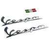 Motorcycle Raise 3D Emblem  Vespa Sticker