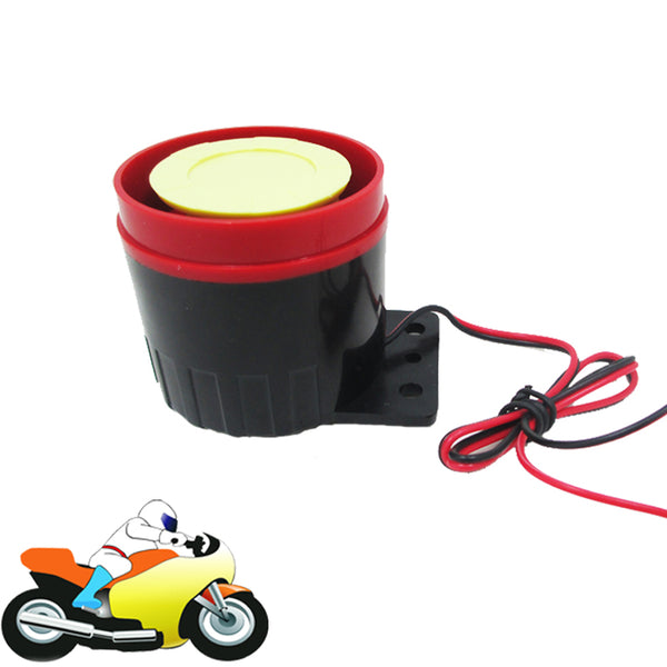 12V 125dB Mini Motorcycle Horn Alarm Speaker for Scooter Moped  Vespa