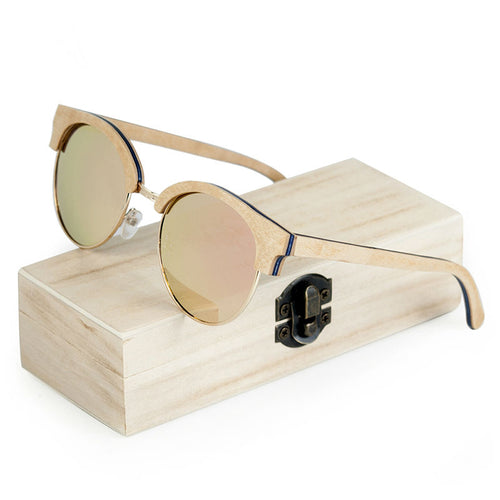 Wooden Ladies Sunglasses - That's So Handy
