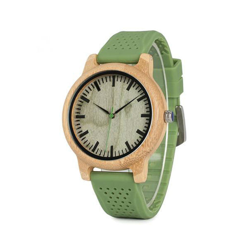 Silicone Bamboo Watch - That's So Handy