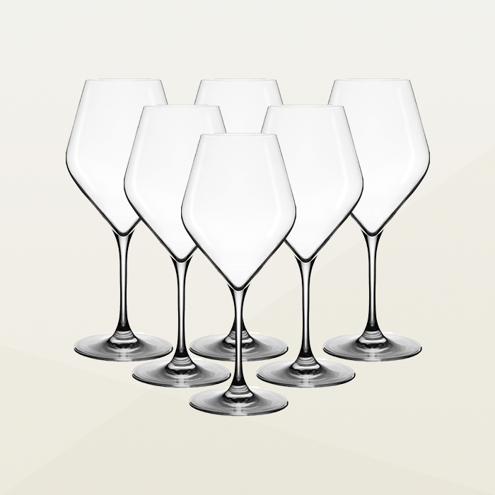 Absolus Red Wine Glasses (set of 6)
