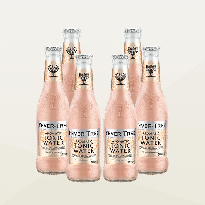 Fever-Tree Aromatic Tonic Water 200ml Case of 6