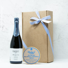 Valentine's Sparkling Wine & Chocolate Gift Box