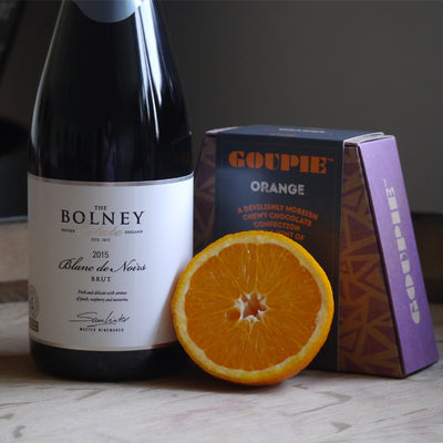 Blanc de Noirs and Orange Chocolates