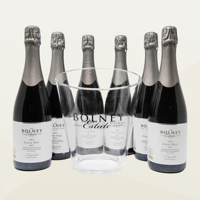 Case of Six Cuvée Noir with Free Ice Bucket