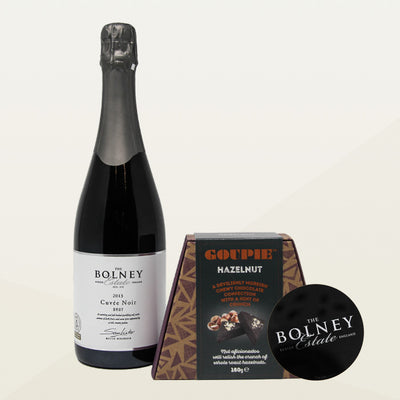 Cuvée Noir with Free Goupie Hazelnut Chocolates and Drop Stop