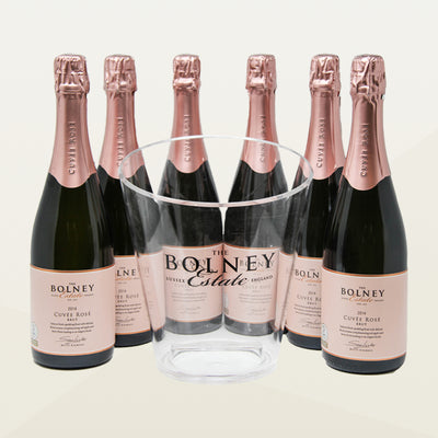 Case of Six Cuvée Rosé with Free Ice Bucket