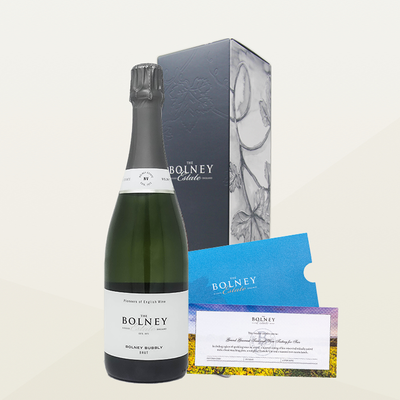 Bolney Bubbly Gift Box with Grand Gourmet Tour