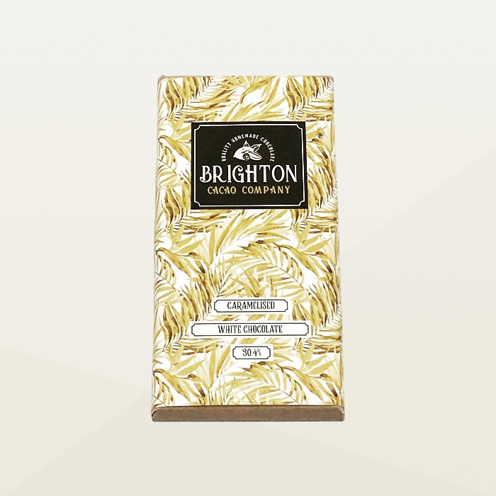 Brighton Cacao Company Caramelised White Chocolate Bar