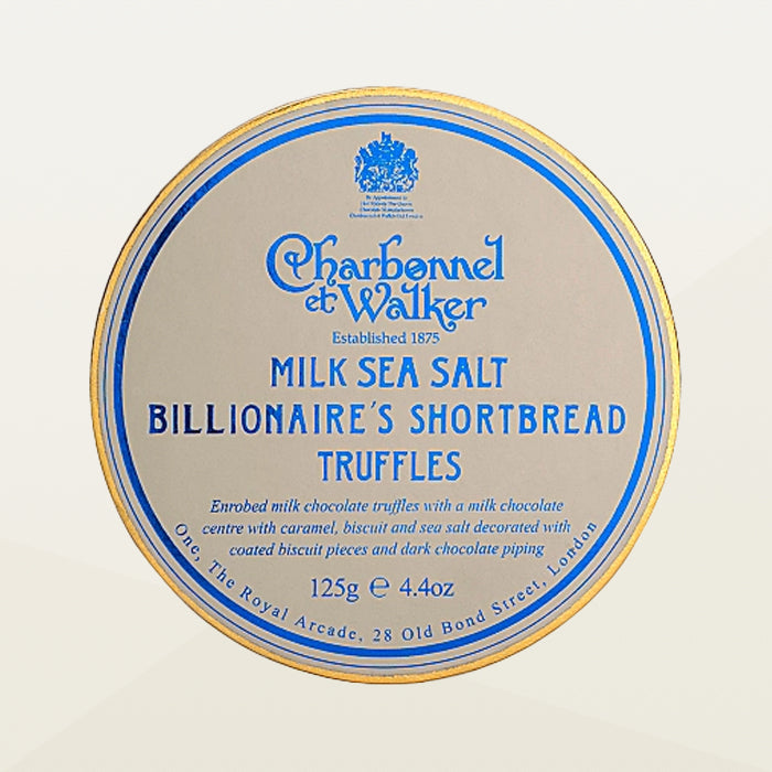 Charbonnel et Walker Milk Sea Salt Billionaire's Shortbread Truffles