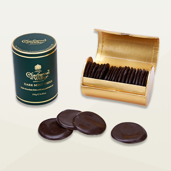 Charbonnel et Walker Dark Chocolate Mint Thins