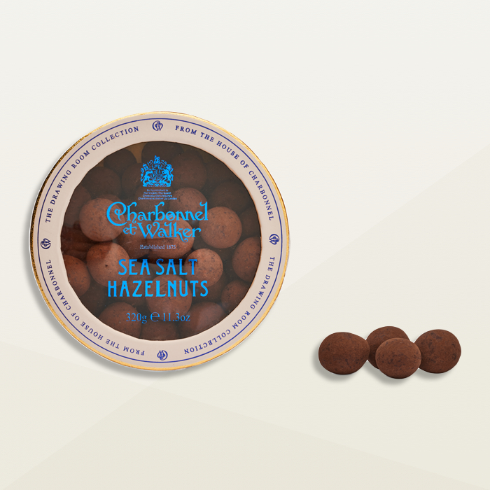 Charbonnel et Walker Sea Salt Hazelnuts