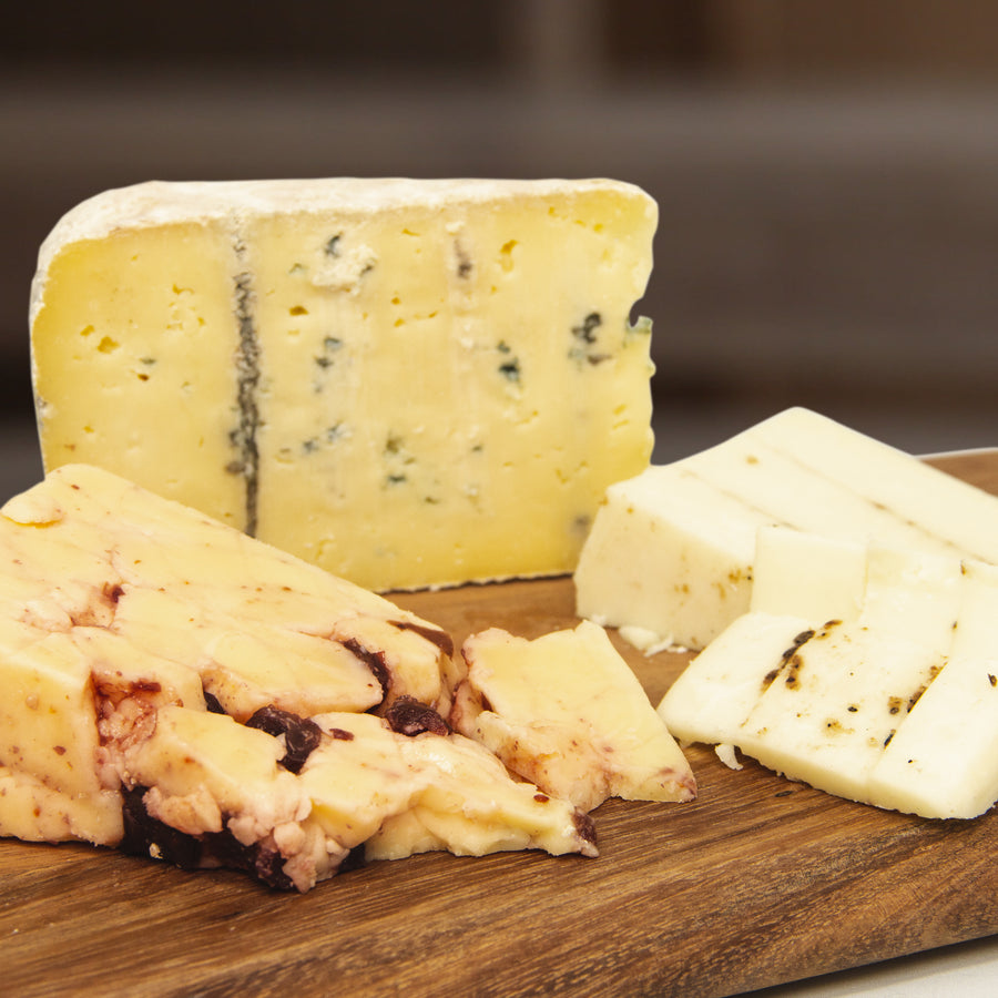 Christmas Cheese Trio