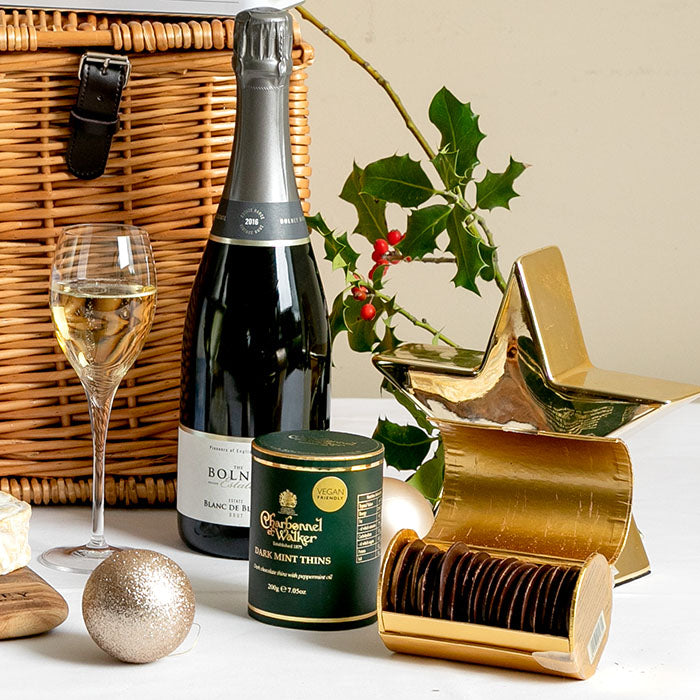Christmas Wine & Cheese Lovers Hamper