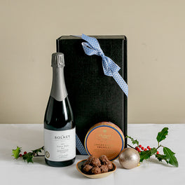 Christmas Wine & Chocolate Gift Box