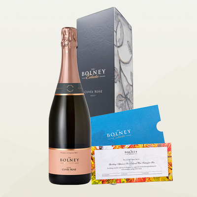 Cuvée Rosé Gift Box with Sparkling Afternoon Tea Tour