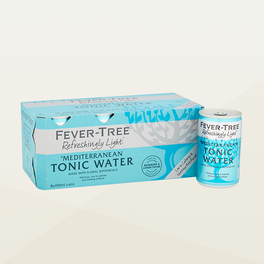 Fever Tree Refreshingly Light Mediterranean Tonic Water