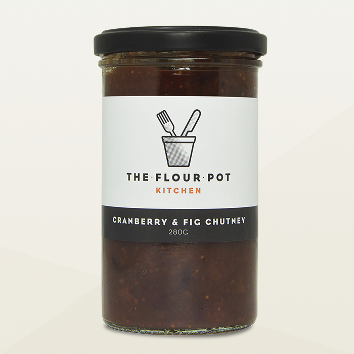 The Flour Pot Cranberry and Fig Chutney