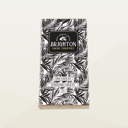 Brighton Cacao Company Ghanan Dark Chocolate Bar