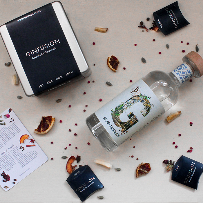 Bolney Estate Gin and Ginfusion Bundle