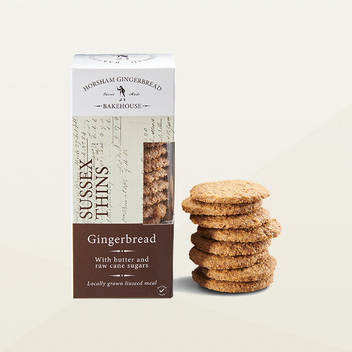 Horsham Gingerbread - Gingerbread Biscuit Thins