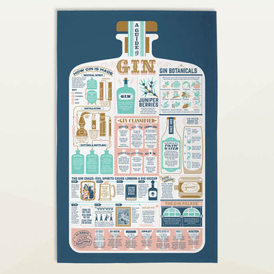 G & T Tea Towel