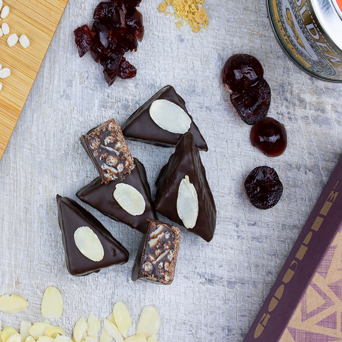 Goupie Cherry and Almond Chocolates
