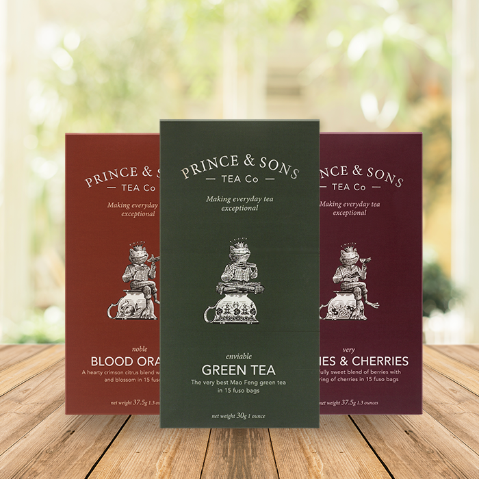 Prince and Sons Fruit and Herbal Tea Selection Box